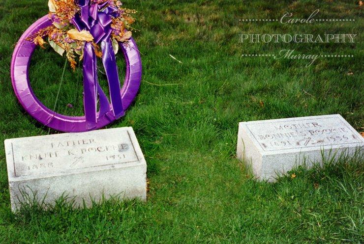 Knute Rocke grave watermarked