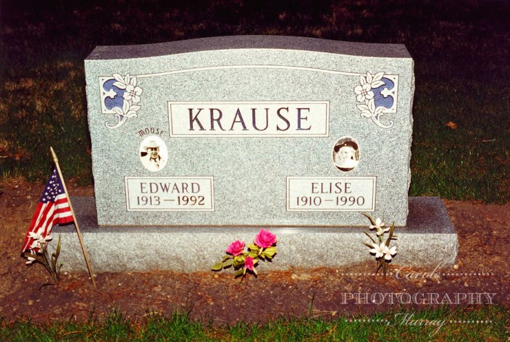 Moose Krause grave watermarked