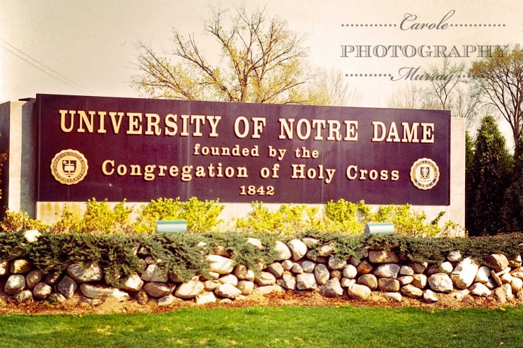 ND Entrance Sign 1994 watermarked