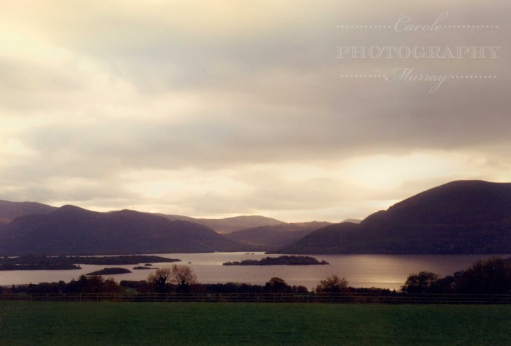 Lough Leane and Macgillycuddys Reeks Killarney County Kerry watermarked