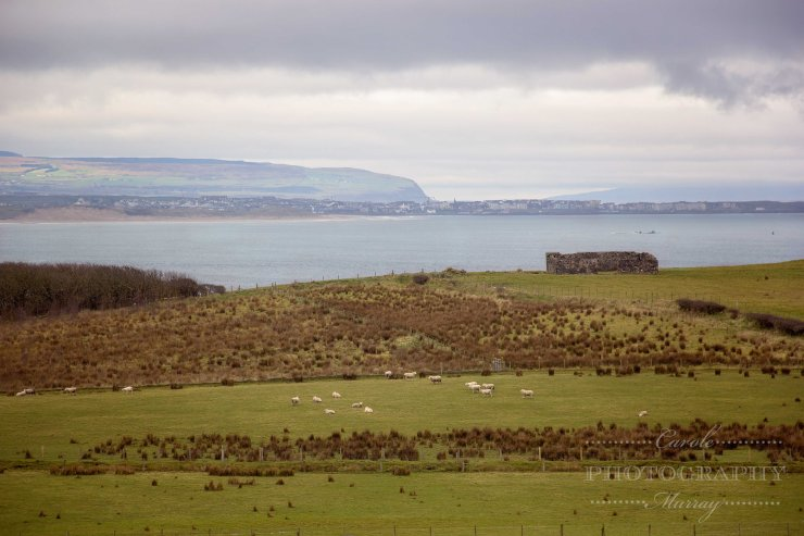 View from Causeway Hotel County Antrim Northern Ireland