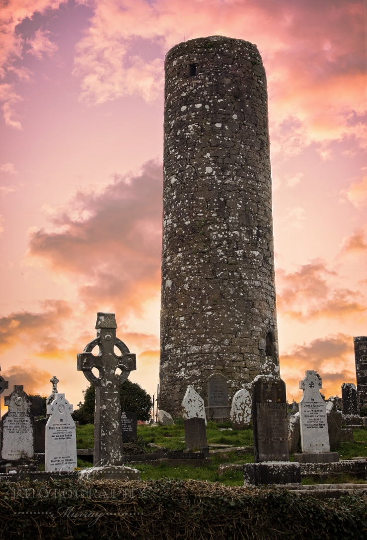 Aughagower Cemetery County Mayo Ireland